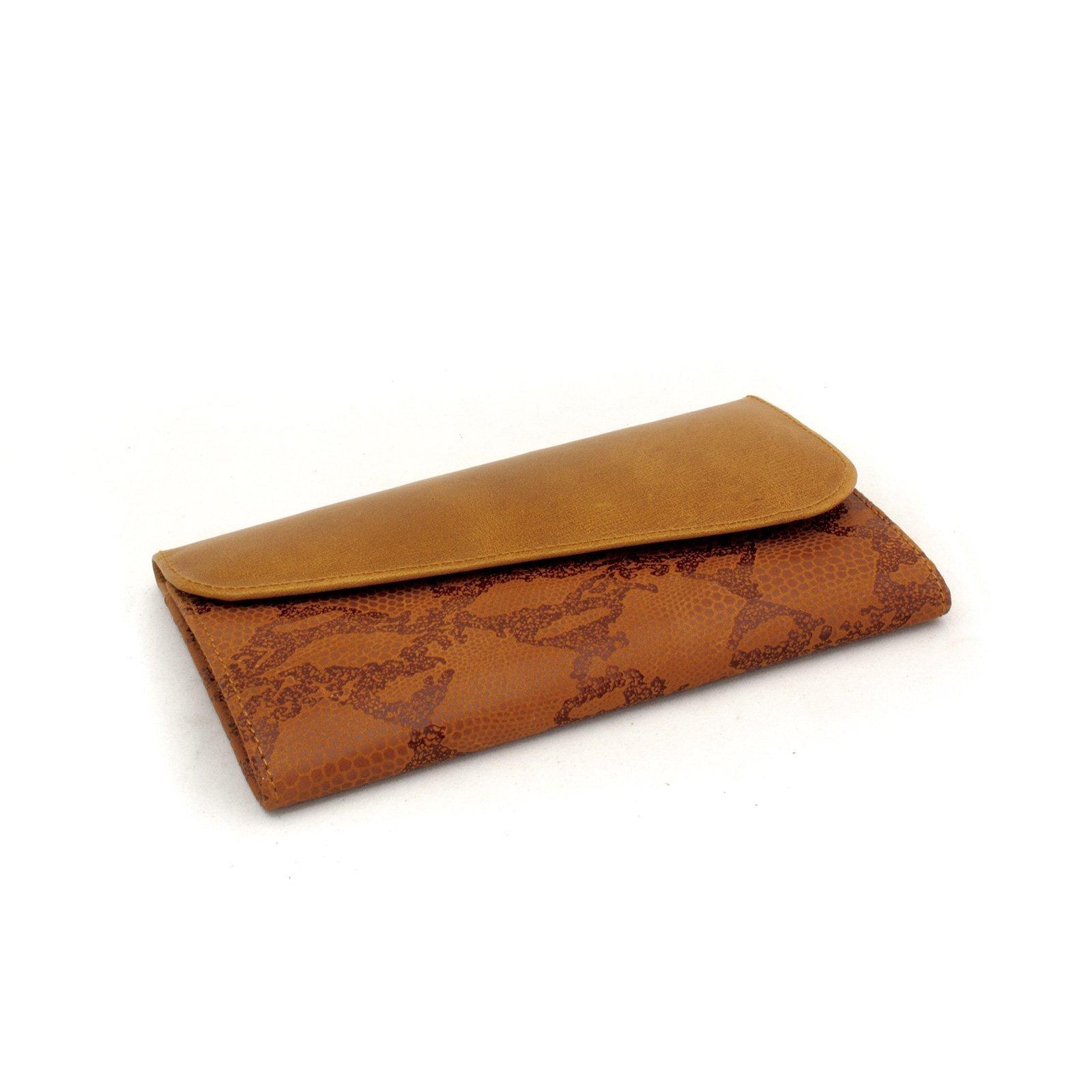 Billetera para Dama con Monedero Caramelo