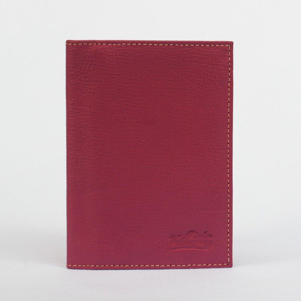 Funda de Pasaporte Deluxe en Cuero Rosado
