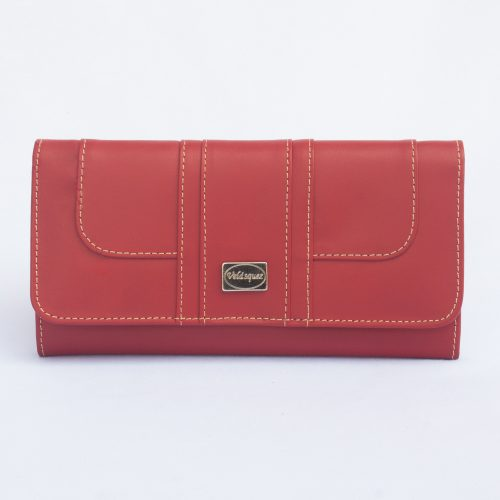 Billetera de Dama Continental color rojo