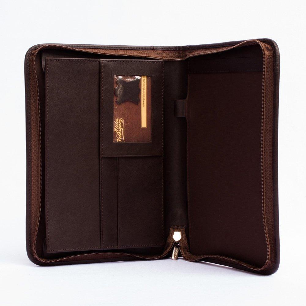 Cartapacio Ejecutivo A5 con Cremallera y Bolsillo para iPad mini 4