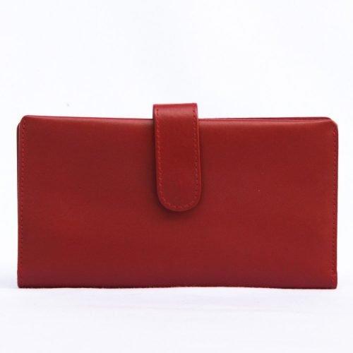 Billetera de Dama de Cuero Modelo Rustico