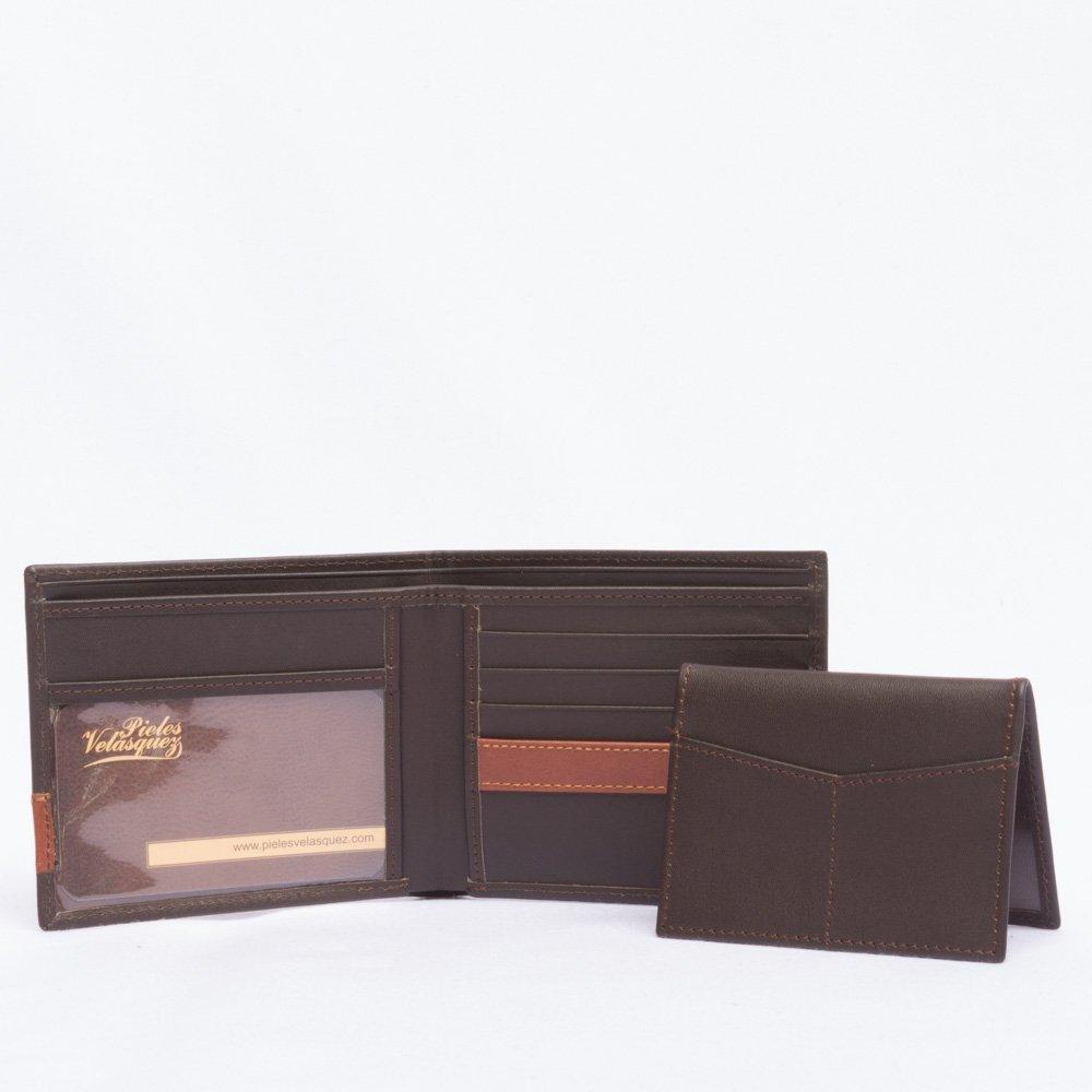 Billetera con mica para hombre