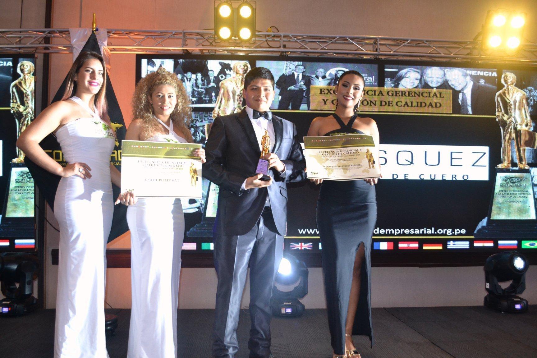Pieles Velásquez obtiene Premio Internacional a la Calidad y Excelencia 2018