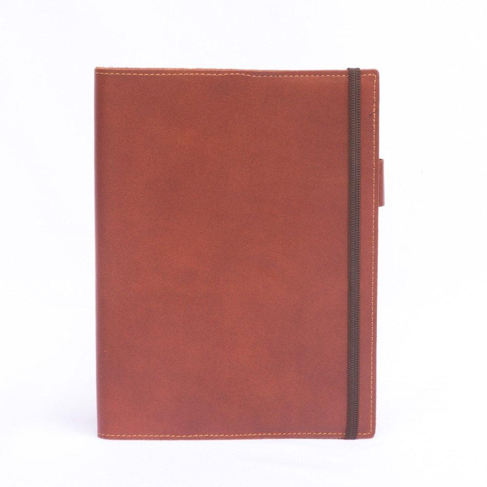 Funda de cuaderno de Cuero Modelo rustico